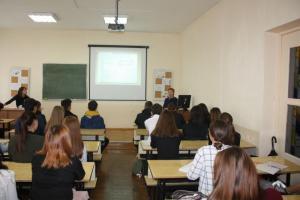 Новый учебный год - новые встречи со студентами и преподавателями